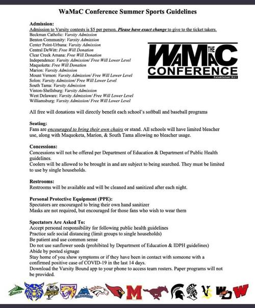 WMAC Guidelines
