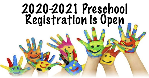 Preschool Open for 2020-2021